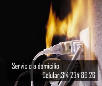 Servicio electrico a domicilio bogota